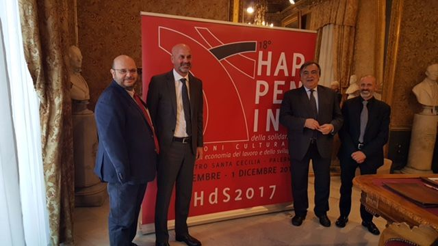 Palermo,-presentata-a-Palazzo-delle-Aquile-la-XVIII-Edizione-dell'Happening-della-Solidarietà